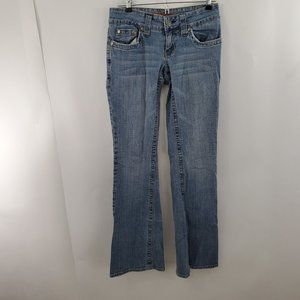 Hydraulic Jeans 5 6 Boot Bootcut Denim Blue Low Ri